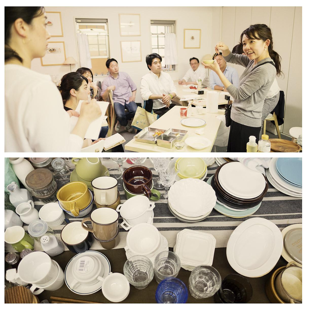 小坂さんのスタイリング教室は毎回満席でフェリカスピコの1番人気。