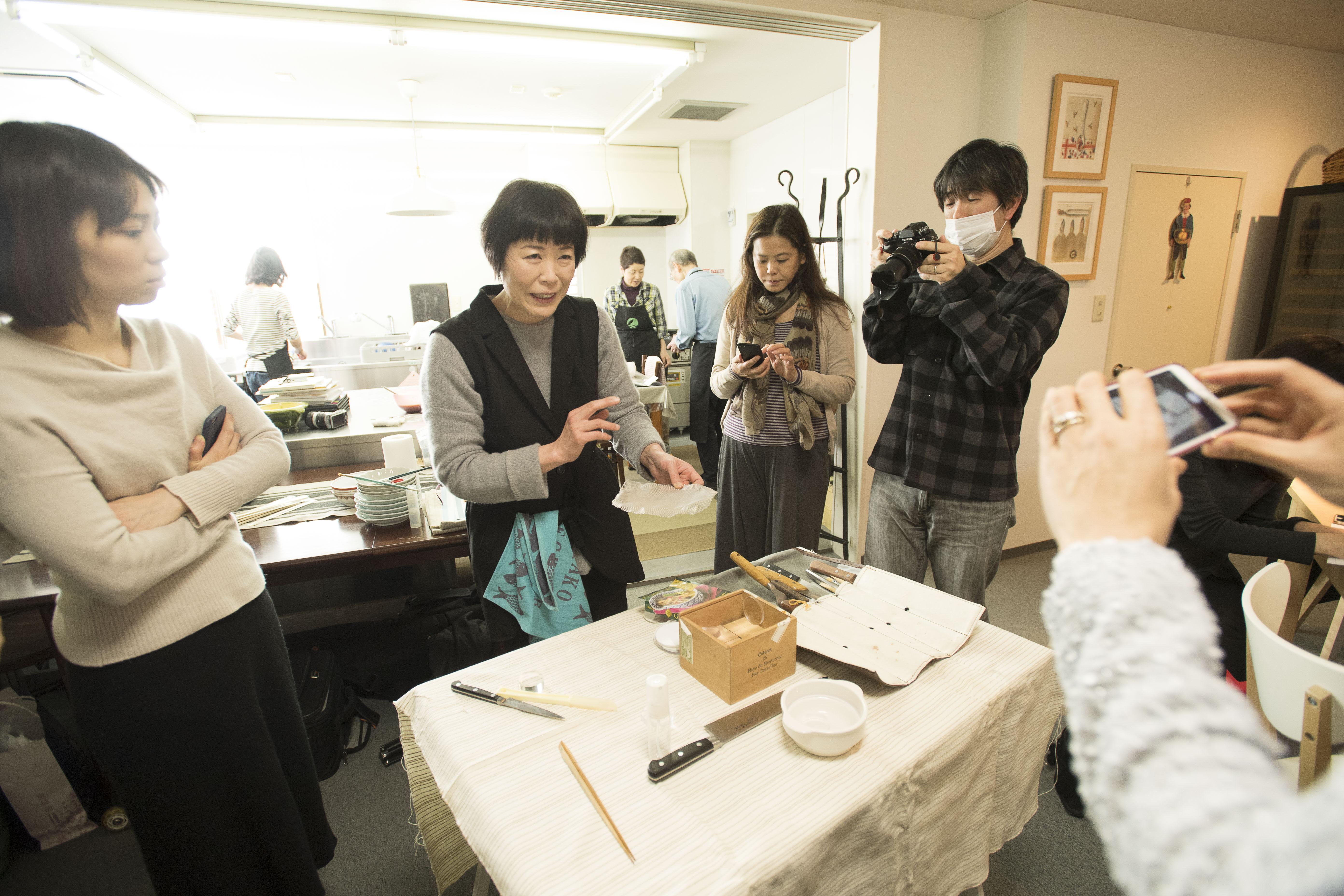 講師は初登壇の渡邊美穂さん。この道30年。超ベテランの大先輩です。
