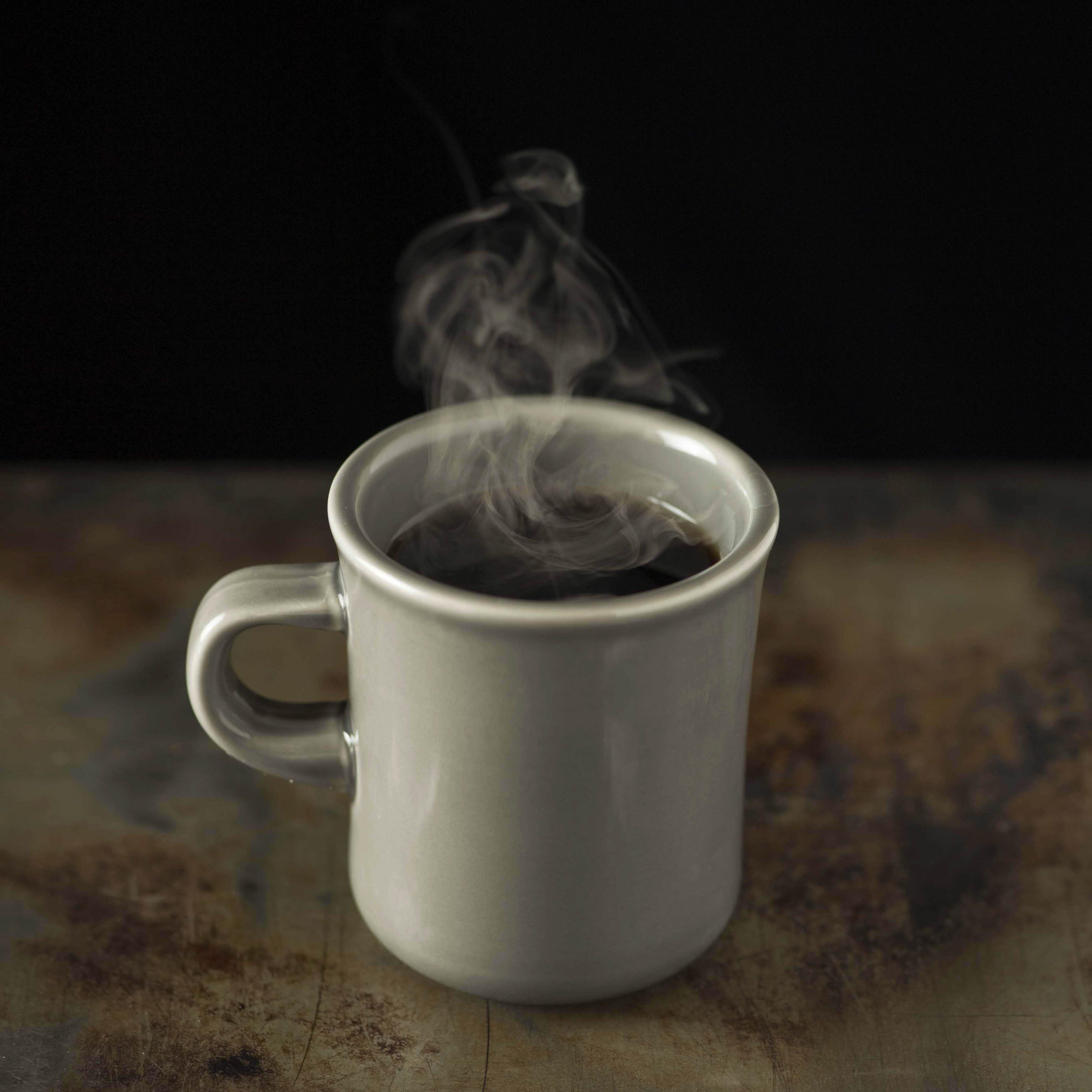 最後は冷めたコーヒーでテスト。