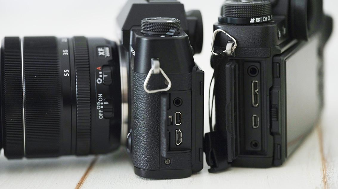 USBの接続部分の形状が異なるのは少し困るけど