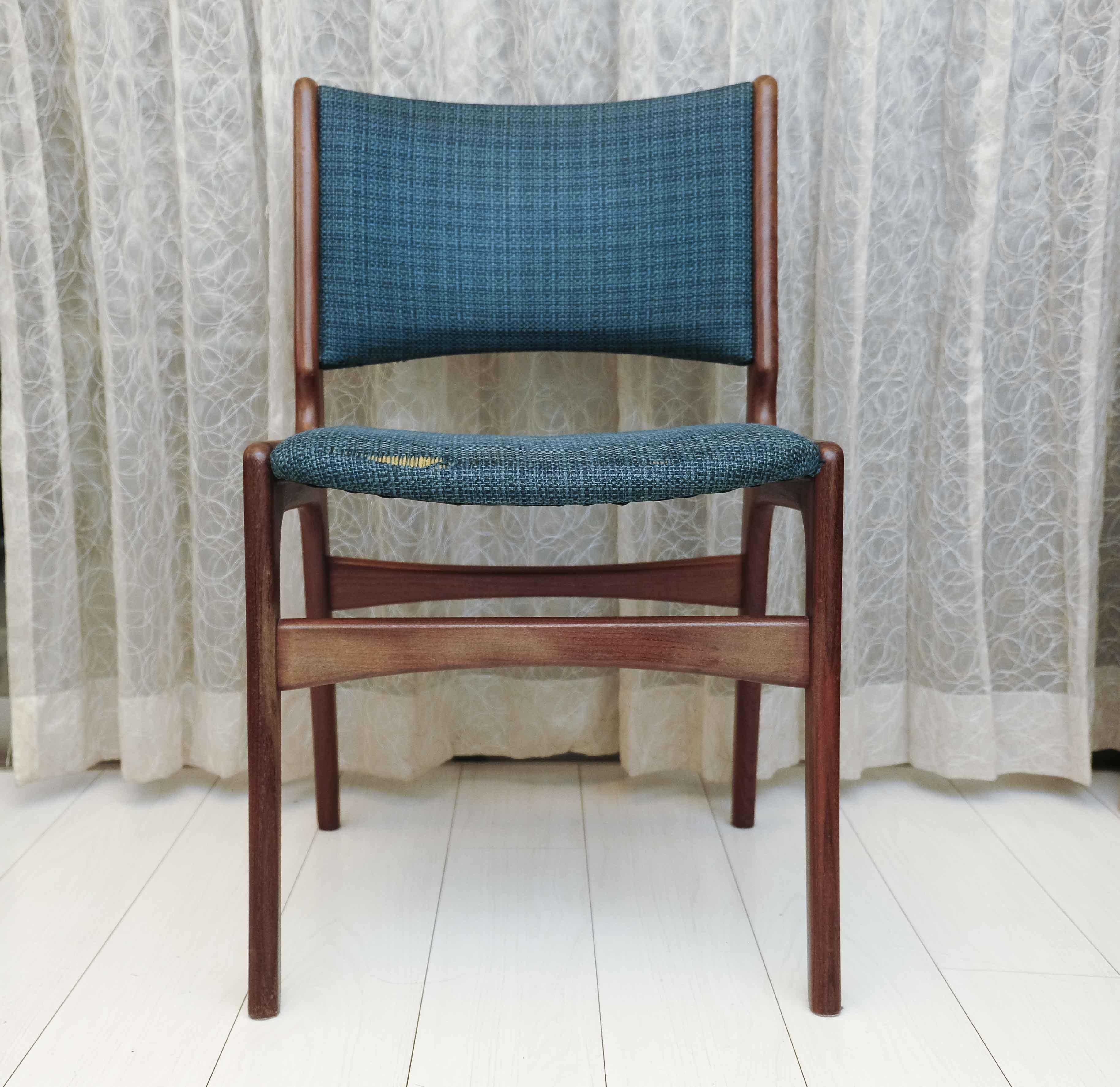 椅子の全貌。私にとっては脚が長い。