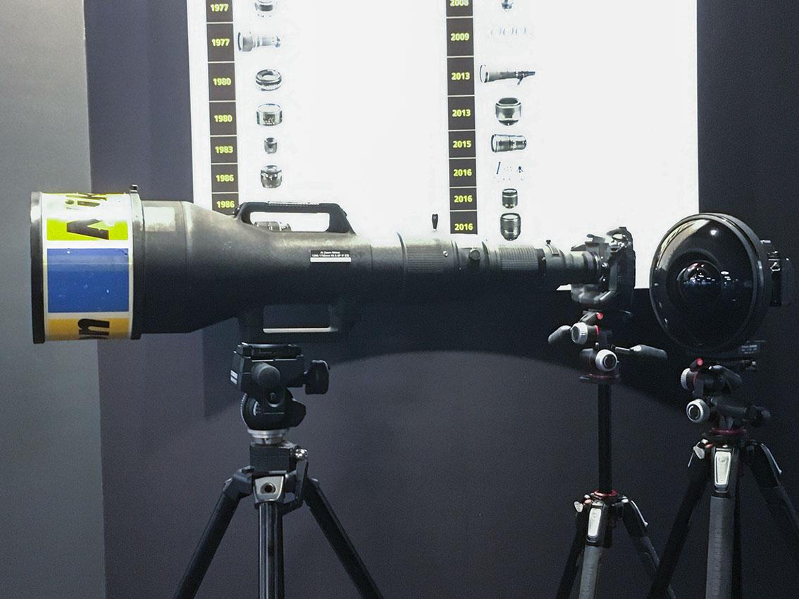 1200-1700mmの超望遠ズームと6mmの超魚眼