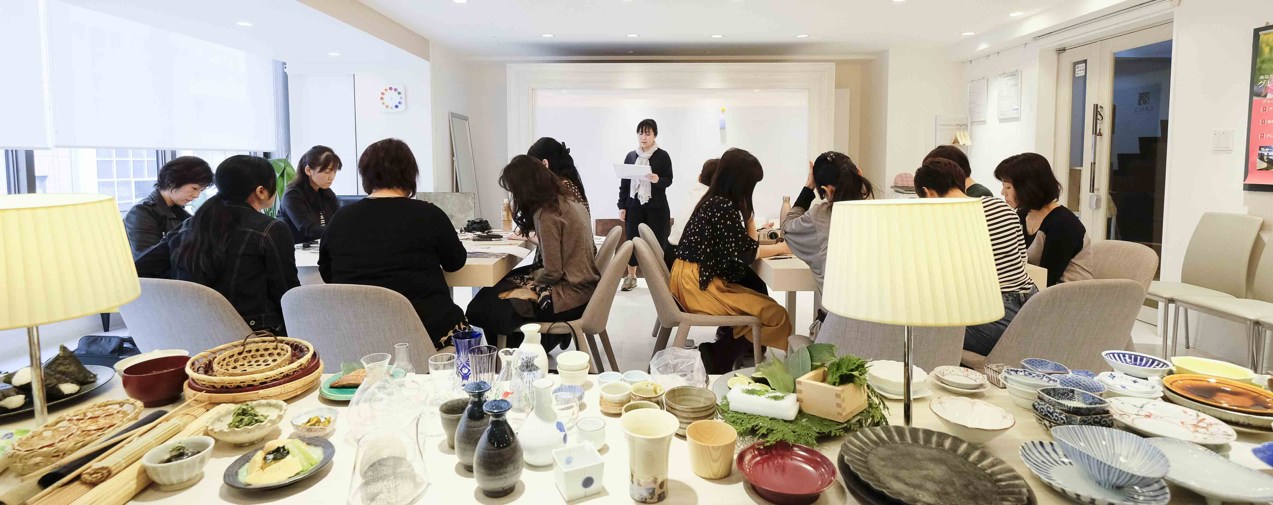 大阪で開催したスタイリング教室