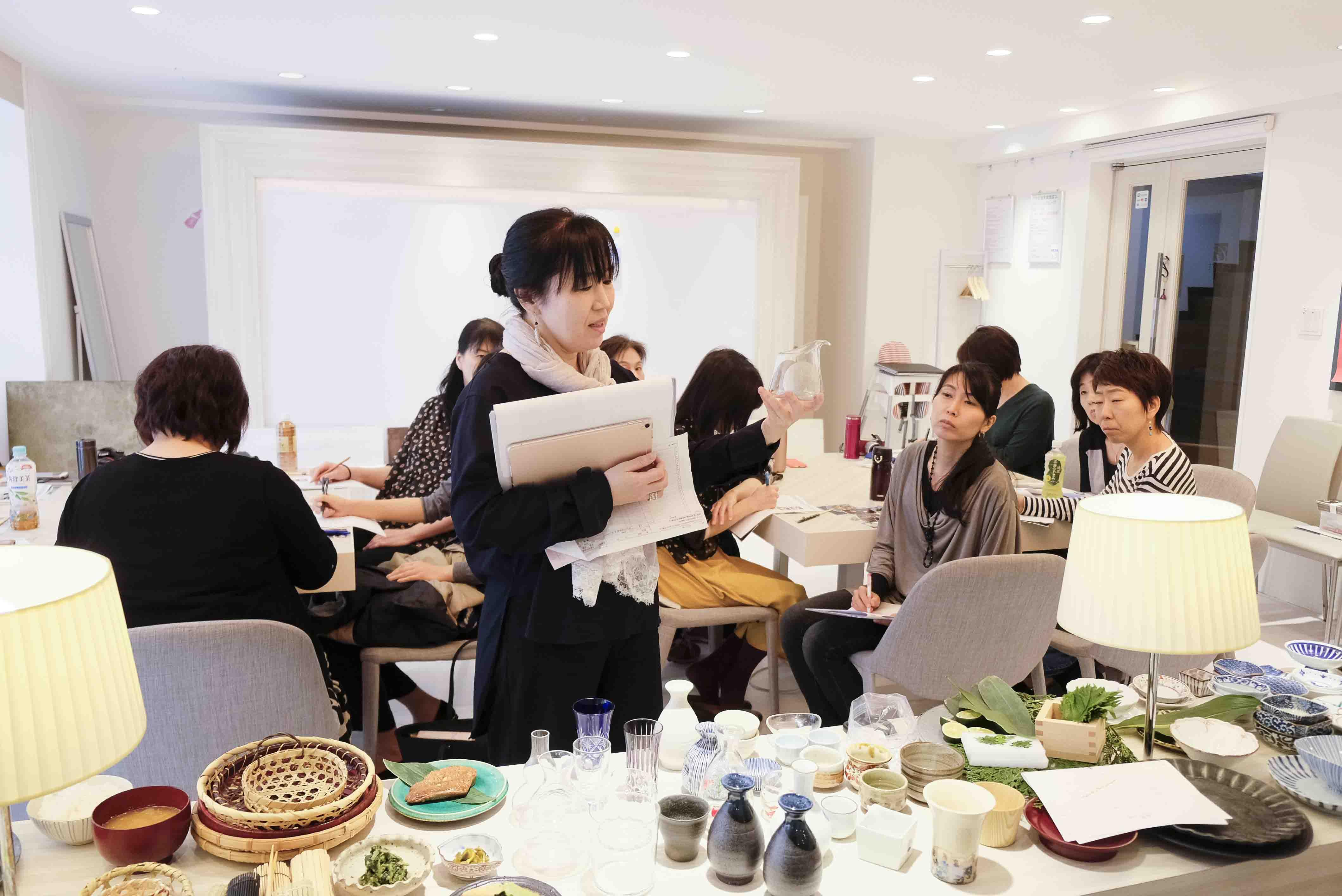 和食のスタイリング教室