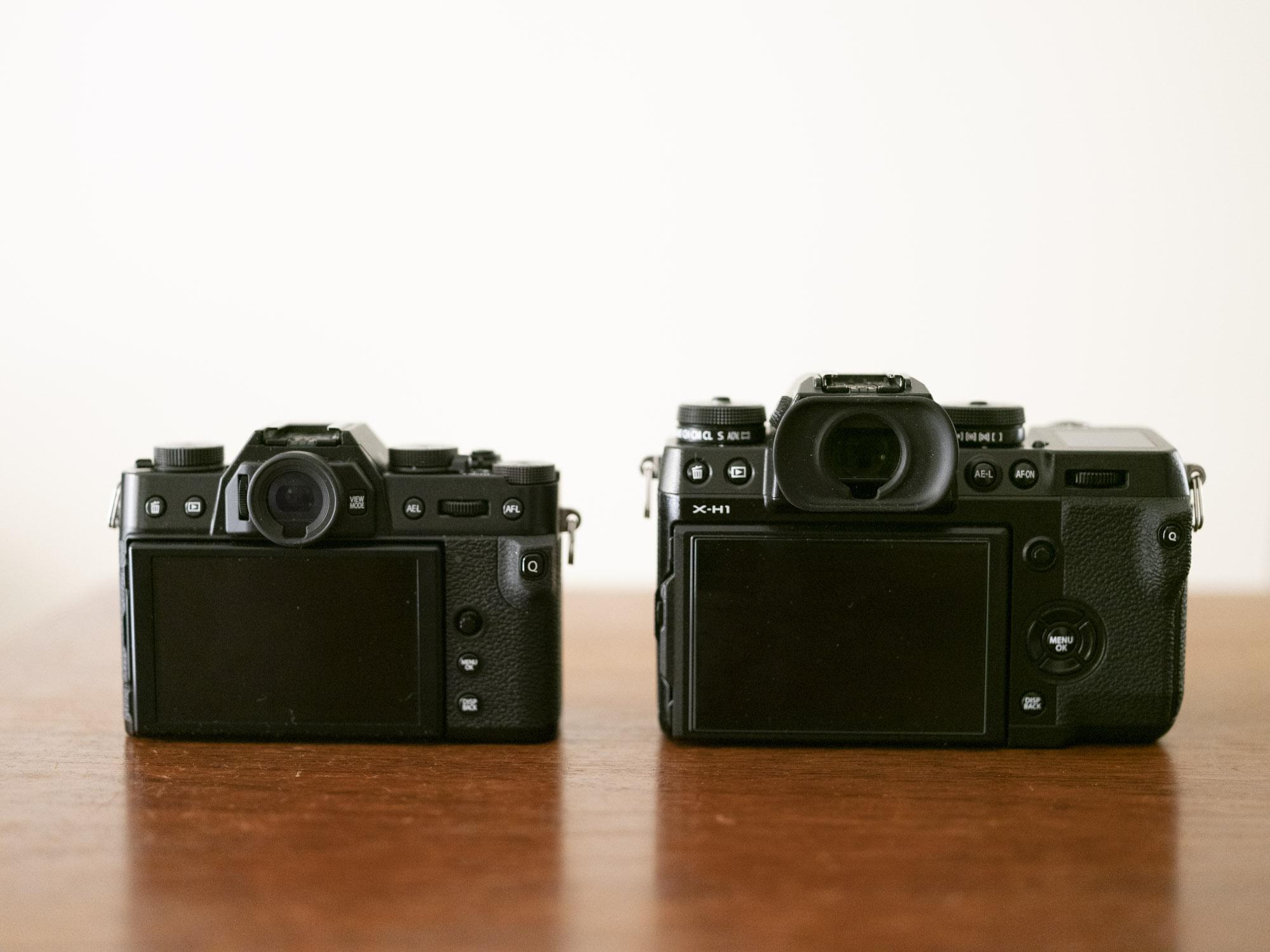 XーH1とX-T30